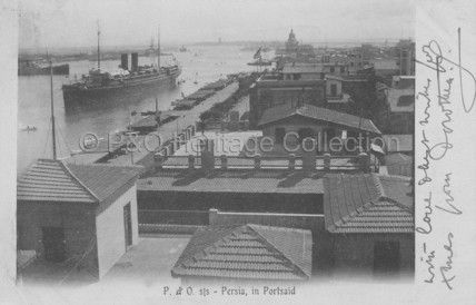 PERSIA at Port Said