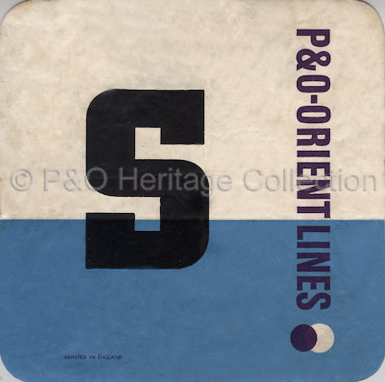 P&O-Orient Line baggage label