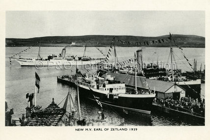 EARL OF ZETLAND in port