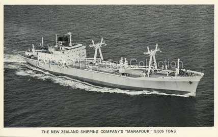 MANAPOURI at sea