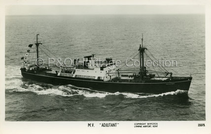 ADJUTANT at sea