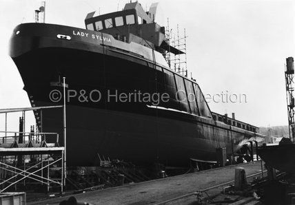 LADY ROSEMARY under construction
