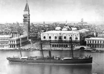 NIZAM anchored at Venice