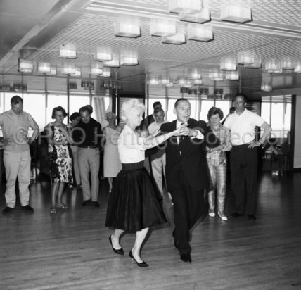 Dancing in CANBERRA's Island Room