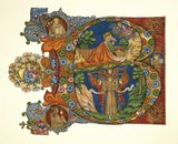Initial from a Choir Psalter, with St Francis of Assisi