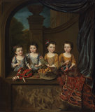 The daughters of Sir Matthew Decker, by Jan van Meyer