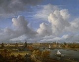 Panoramic view on the Amstel