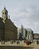 The Town Hall of Amsterdam, by Gerrit Adriaensz Berckheyde