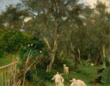 Olives in Corfu, by Sargent