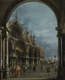 St Mark's, Venice, by Canaletto