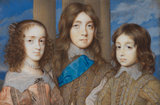 Three of the Children of Charles I, by John Hoskins