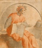 Portrait of Dante, after Vasari