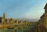 The Arno with the Ponte Alla Carraia
