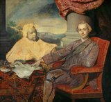 Lord Rockingham and Edmund Burke