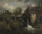 Parham's Mill, Gillingham, Dorset, by Constable