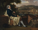 Joseph Allen Smith contemplating Florence