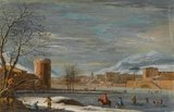 Winter Landscape, attributed to Paulo de' Filippi (Betto)