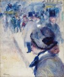 La Place Clichy, by Renoir