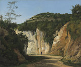 Near Cremieu, by Henri-Joseph Harpignies