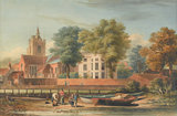 Chiswick Old Church, by John Varley