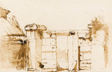 A gateway, by Giovanni Battista Tiepolo
