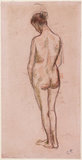 Full-length standing nude of a woman