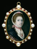 Portrait of an Unknown Lady, by Samuel Cotes
