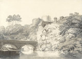 Tonbridge Castle, Kent, by Turner