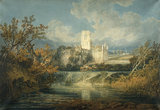 Kirkstall Abbey, Yorkshire, by Turner