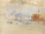 Venice from the Lagoon, by Turner