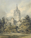 Christ Church, Oxford, by Turner