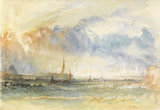 Venice, Storm at Sunset, by Turner