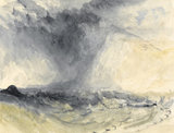 Shakespeare Cliff, Dover, by Turner