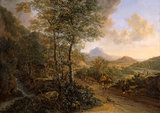 Italian landscape, with Monte Soratte, by Jan Both