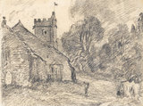An Essex Church, by Constable