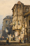 The Old Palace, Bamberg, by Samuel Prout