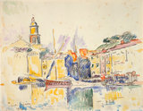 Saint Tropez, by Signac
