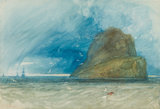 The Bass Rock, by John Sell Cotman