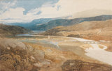 Dolgelly, North Wales, by John Sell Cotman