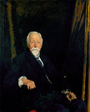 Sir Clifford Allbutt, by William Orpen