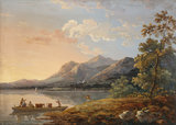 View of Ferry, Keswick Lake, by John Laporte