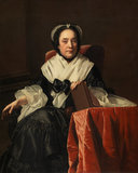 Mrs John Ashton, by Joseph Wright of Derby