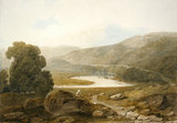 The Valley of the Mawddach, by John Varley