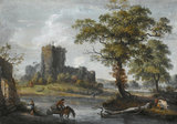 Chepstow Castle, by Paul Sandby