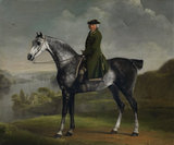 Joseph Smyth Esq on a dapple grey horse, by Stubbs