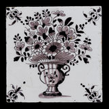 Tin-Glazed Earthenware Tile, English