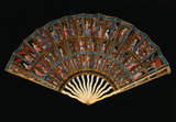 The Messel Mica Folding Fan