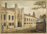Christ's College Cambridge, by W. Mason