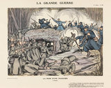 The taking of a trench, La Grande Guerre