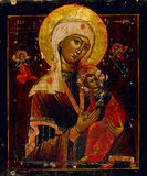 Virgin and Child, Russian Icon